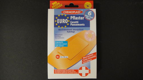 Europflaster 6 Stk. in Packung