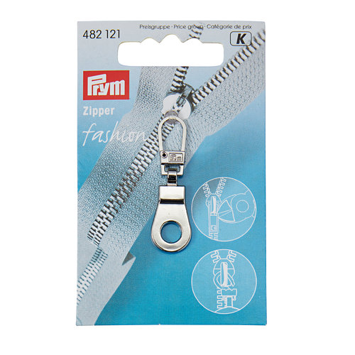 Prym Fashion Zipper Öse silber
